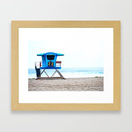 Lifeguard Framed Art Print