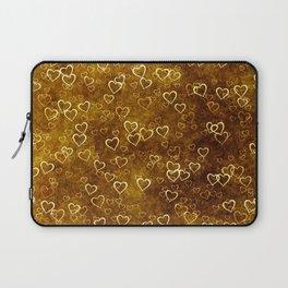 Vintage Hearts Laptop Sleeve