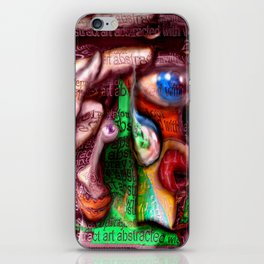 Abstract with verve iPhone Skin