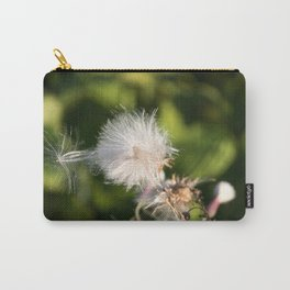 Thistle blowing in the wind Carry-All Pouch
