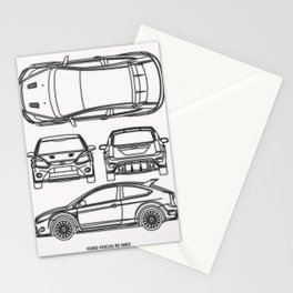 Focus RS MKII Stationery Cards
