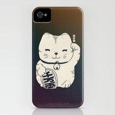 FORTUNE CAT iPhone (4, 4s) Slim Case
