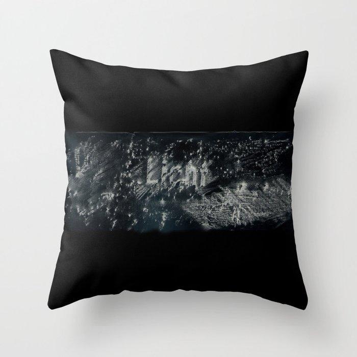 light no.1 Throw Pillow