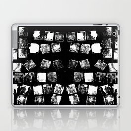 Stamp Black and White Laptop & iPad Skin