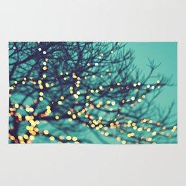 twinkle lights Rug