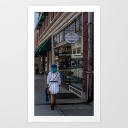 Shabby Love Art Print