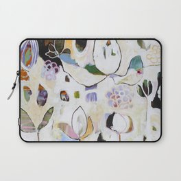 """""""Letting Go"""" Original Painting by Flora Bowley Laptop Sleeve"""