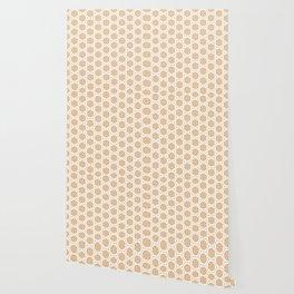 Hex Pattern 72 - Mandarine Wallpaper