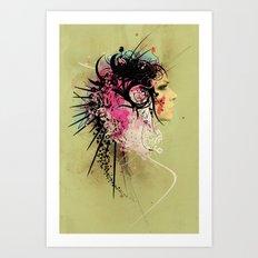 Brainstorm Art Print