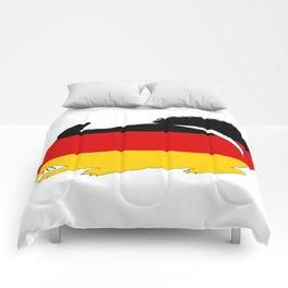 German Flag - Chinchilla Comforters