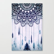 BOHO DREAMS MANDALA Canvas Print