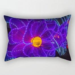 magical flower lights Rectangular Pillow