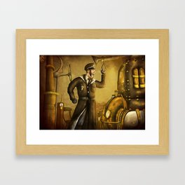 The Machinist Framed Art Print