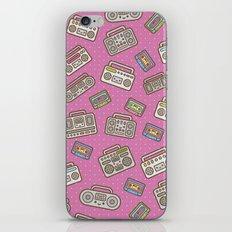 Kawaii Boombox Party iPhone & iPod Skin