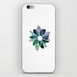 Rock Flower iPhone Skin