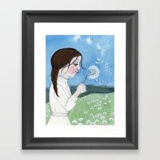 The Wish Framed Art Print