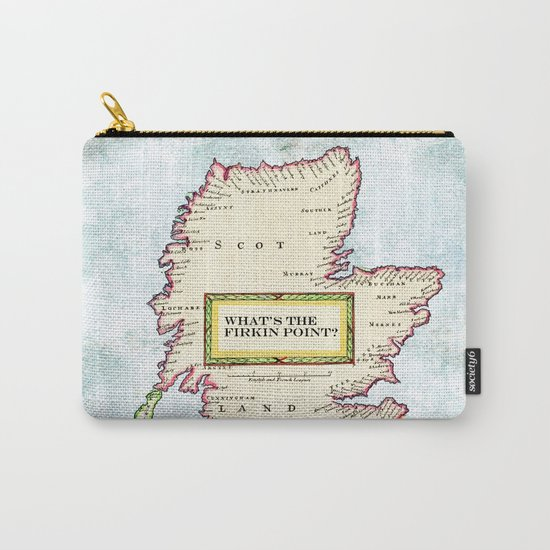 The Scottish Question Pictorial version Carry-All Pouch