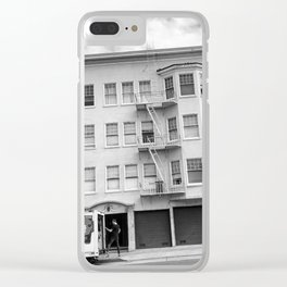 San Francisco Tilt Clear iPhone Case