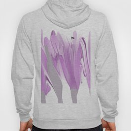Spring Flowers In Shades of Lilac Hoody