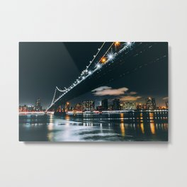 New York City - East River Metal Print