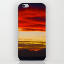 Red Horizon iPhone Skin