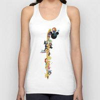 merida Tank Tops featuring Welcome Princess Merida (Update)  by Katie Simpson a.k.a. Redhead-K