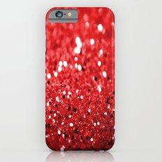 Glitter Red Slim Case iPhone 6