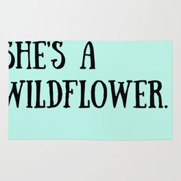 She's A Wildflower Rug