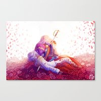 utena Canvas Prints featuring The Rose Bride by Yoccu