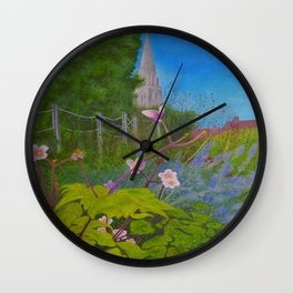 Chichester Bishops Palace Gardens Wall Clock