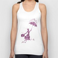 mary poppins Tank Tops featuring Mary Poppins Disneys by Carma Zoe