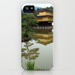 Kinkaku-ji Temple - Greg Katz iPhone Case