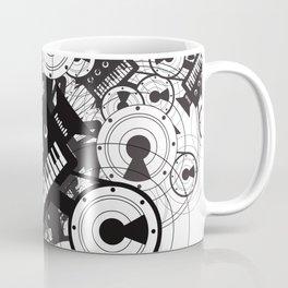 Elektro Drone #3 Coffee Mug