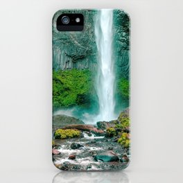 Latourell Falls Oregon United States Ultra HD iPhone Case