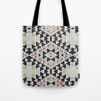 navajo Tote Bags featuring navajo by spinL