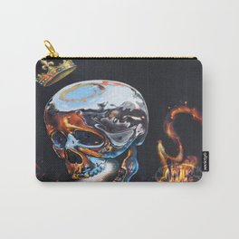 VOGUE TDK Chrome Skull Carry-All Pouch
