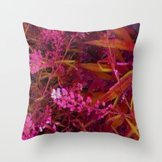 Clipped 2 Throw Pillow