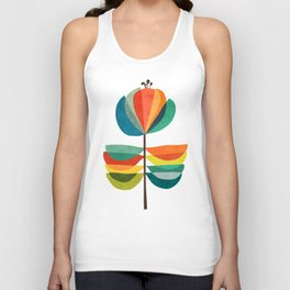 Whimsical Bloom Unisex Tank Top