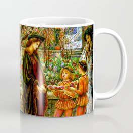 The Enchanted Garden of Messer Ansaldo - Marie Spartali Stillman Coffee Mug