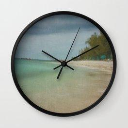 Dreaming of a Key West Beach Wall Clock