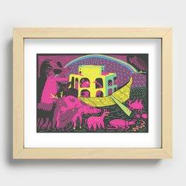 Noah's Ark Recessed Framed Print