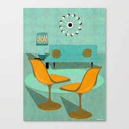 Room For Conversation Canvas Print