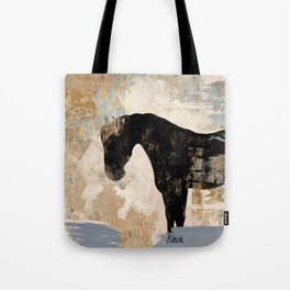 Modern Day Horse Tote Bag