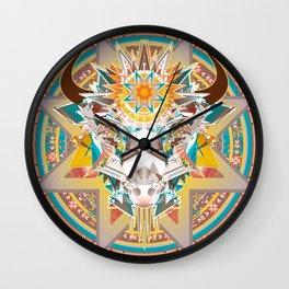 Dakota Buffalo Spirit Wall Clock