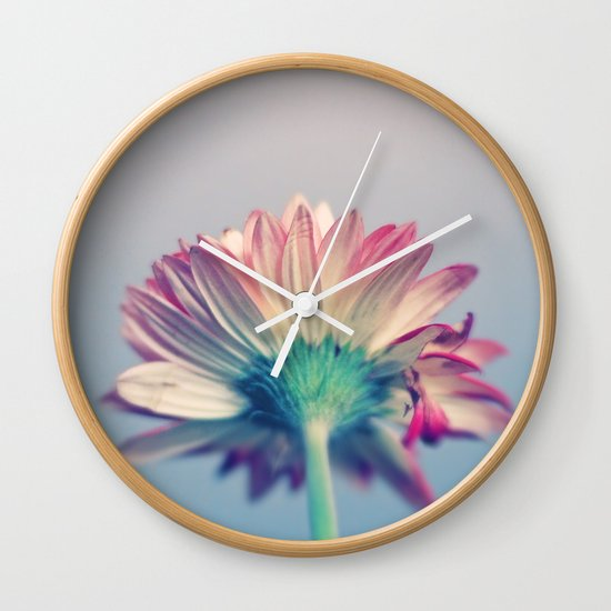 What Lies Beneath Wall Clock