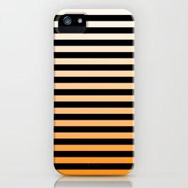 Orange Stripes iPhone Case