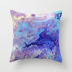 Blue Heaven Throw Pillow