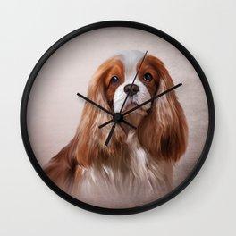 Dog breed Cavalier King Charles Spaniel Wall Clock