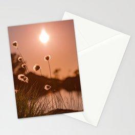 Sunset at Sandviksfjellet, Bergen, Norway Stationery Cards