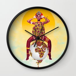 Malkia Wall Clock